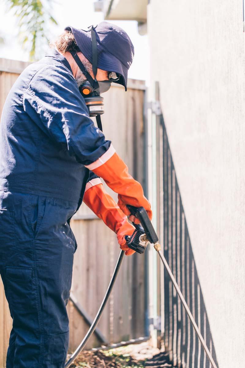 Sunshine Coast Termite Barrier Application